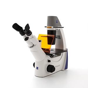 Mikroskopstativ Primovert iLED mit Auflicht-Fluoreszenz 470 nm